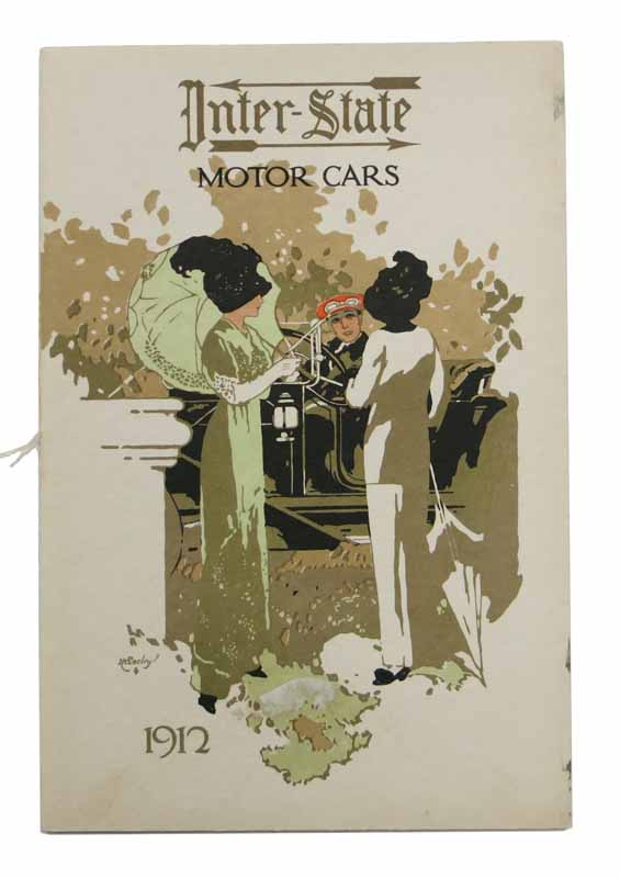 INTER-STATE MOTOR CARS. 1912. Automotive Promotional Booklet.