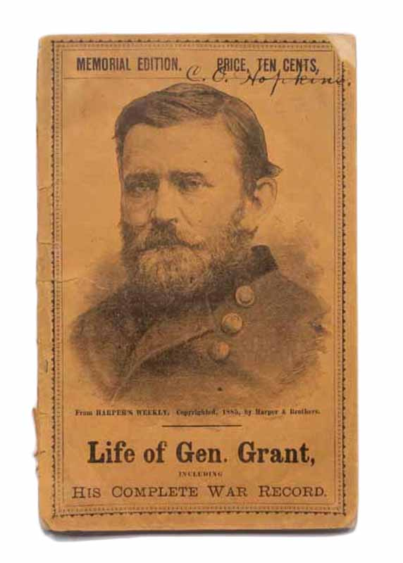 """The LIFE Of ULYSSES S. GRANT, General U. S. A. Comprising the Story of His Early Years; of His Cadetship and Experiences in the War with Mexico; The Narrative of His """"Business Experiences""""; and a Complete History of His Memorable Services in the War for the Union. Ulysses S. - Subject. Willett Grant, Edward, 1822 - 1885."""