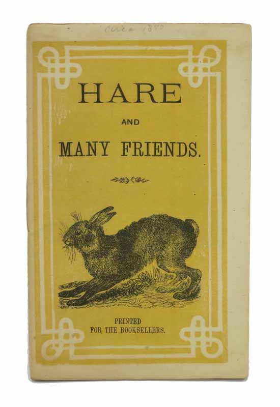 HARE And MANY FRIENDS. Childrens' Chapbook.