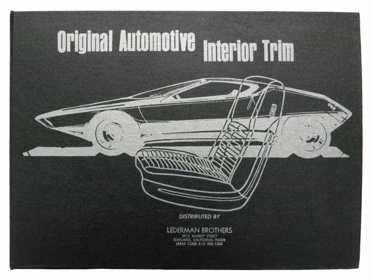 ORIGINAL AUTOMOTIVE INTERIOR TRIM. 1979. Fabric Sample Book.