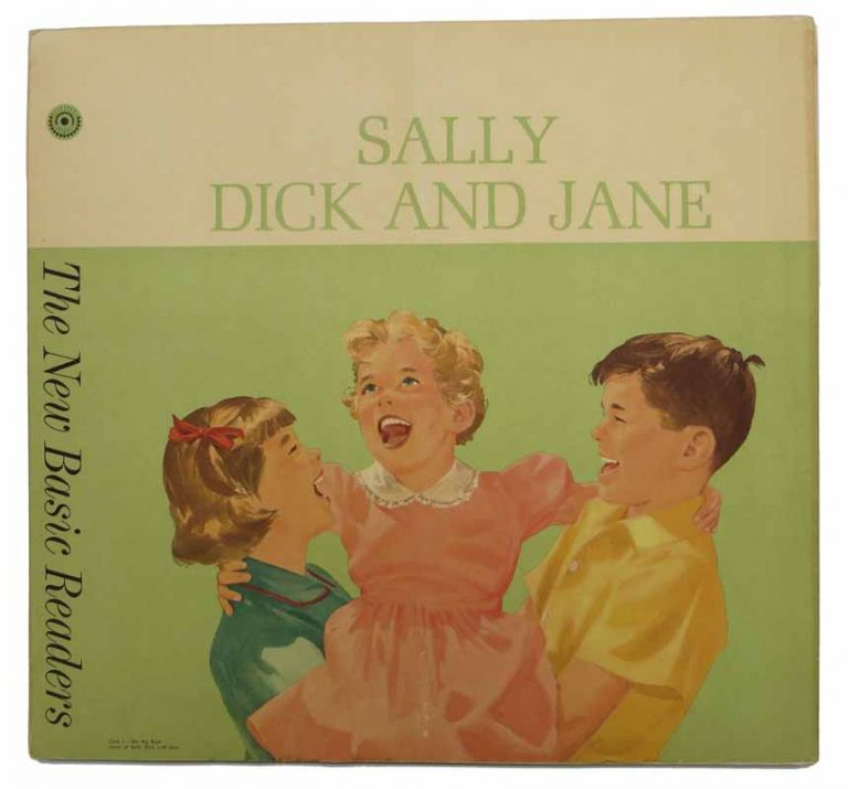"SET Of ""OUR BIG BOOK"" CARDS. Sally, Dick, and Jane; Think-and-Do Book; Fun with Our Family. Children's Readers / Teaching Aids."
