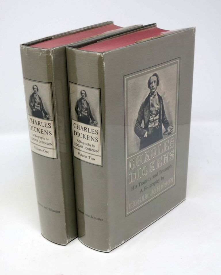 CHARLES DICKENS His Tragedy and Triumph. Charles. 1812 - 1870 Dickens, Edgar Johnson.
