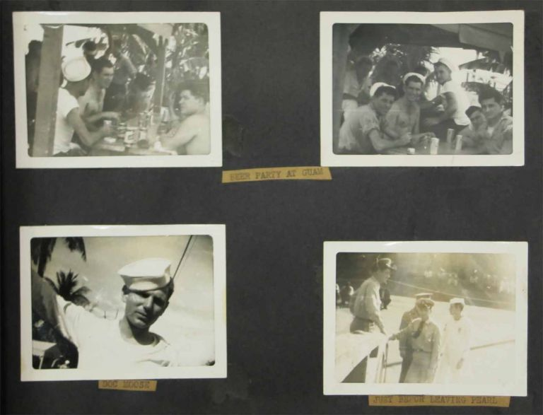 USS GENERAL WILLIAM A MANN (AP 112). Slow Boat From China. Photograph Album.