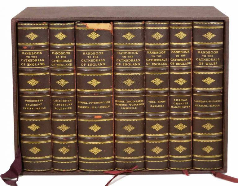 HANDBOOK To The CATHEDRALS OF ENGLAND. [accompanied by] Handbook to the Cathedrals of Wales. Richard John King, 1818 - 1879.