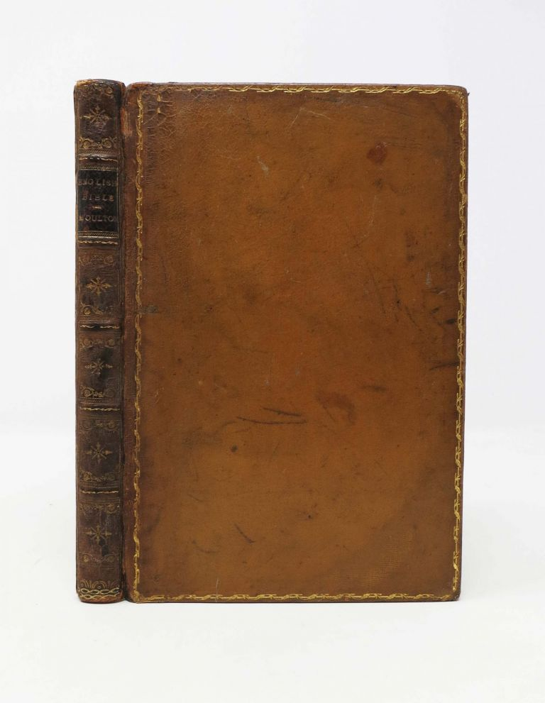 The HISTORY Of The ENGLISH BIBLE. Moulton Rev, illiam, iddian. 1835 - 1898.