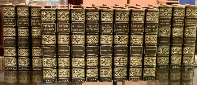 LANG'S TWELVE FAIRY BOOKS And ELEVEN OTHER FAIRY-TALE TITLES. Andrew Lang, 1844 - 1912.