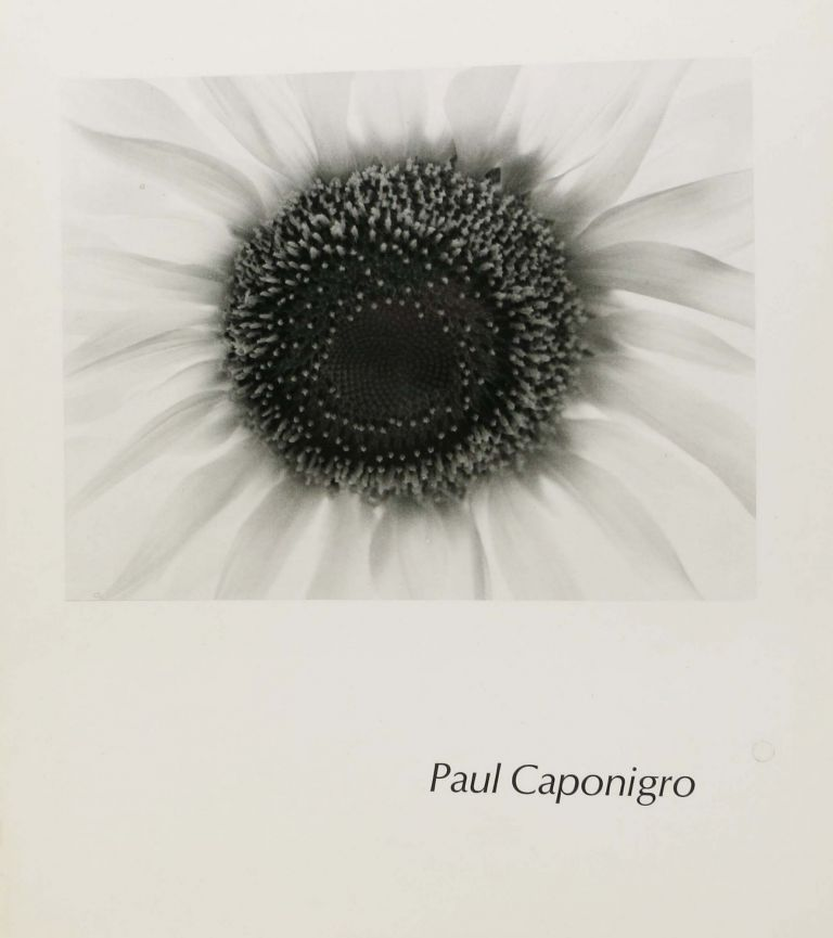 PAUL CAPONIGRO.; An Aperture Monograph. Minor - White, 1908 - 1976.