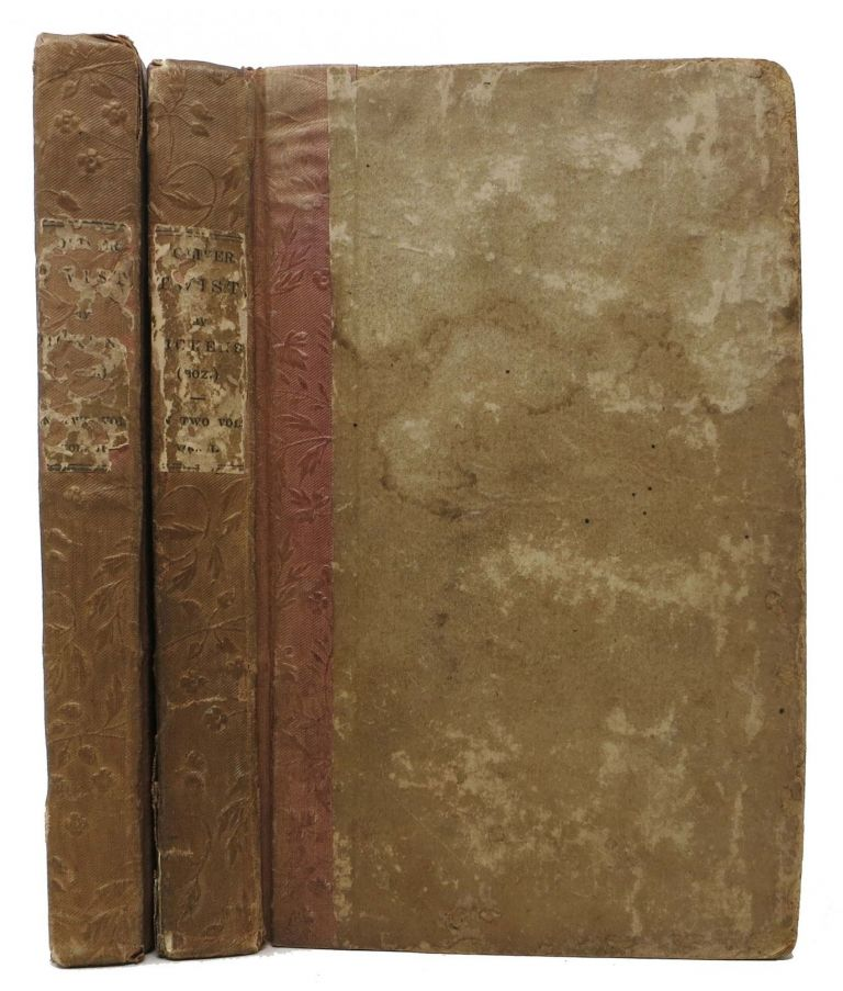 OLIVER TWIST, by Charles Dickens, (BOZ!); In Two Volumes. Charles Dickens, 1812 - 1870.