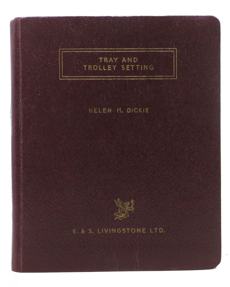 POCKET BOOK On TRAY And TROLLEY SETTING.; Foreword by McInroy, I. G. Helen M. McInroy Dickie, I. G. - Contributor.