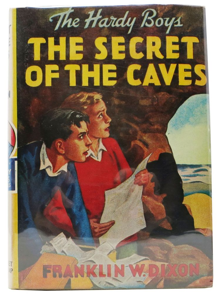 The SECRET Of The CAVES. The Hardy Boys Mystery Series #7. Franklin W. Dixon.