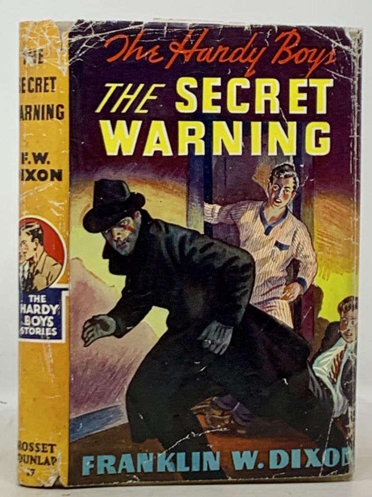The SECRET WARNING. The Hardy Boys Mystery Series #17. Franklin W. Dixon.