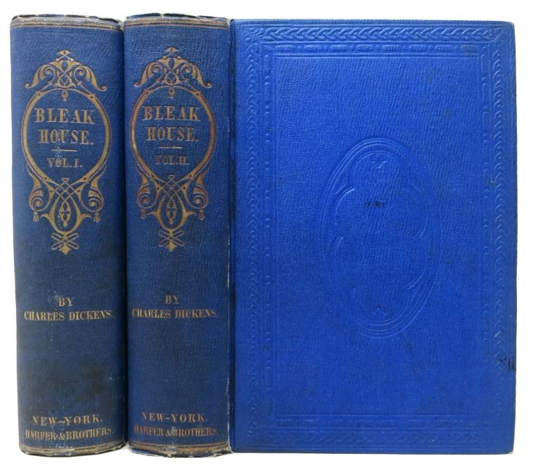 BLEAK HOUSE. In Two Volumes. Charles Dickens, 1812 - 1870.