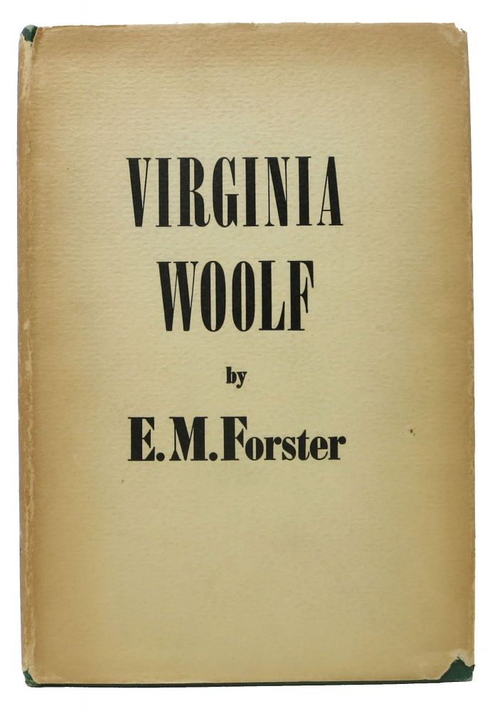 VIRGINIA WOOLF. E. M. Woolf Forster, Virginia - Subject.