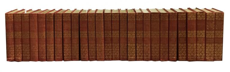 The NOVELS And TALES Of ROBERT LOUIS STEVENSON. Including Letters and Life of Stevenson by Balfour.; In Twenty-six Volumes. Robert Louis . Balfour Stevenson, Graham, 1850 - 1894.