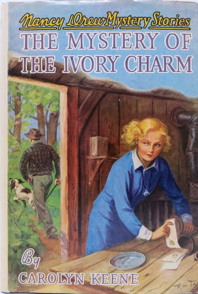 The MYSTERY Of The IVORY CHARM. Nancy Drew Mystery Stories #13. Carolyn Keene, Mildred A. pseudonym for Wirt.