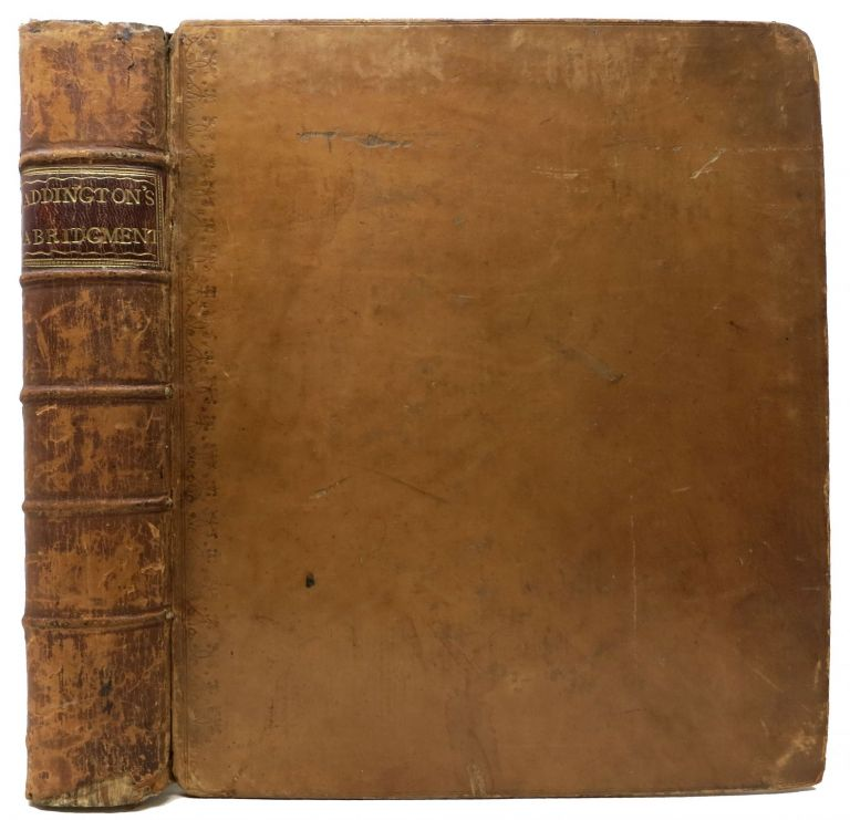 An ABRIDGMENT [sic] Of PENAL STATUTES; Which Exhibits at One View, in the Following Manner, the Offences | Punishments or Penalties | Mode of Recovery | Application of Penalties, &c. | Number of Witnesses | What Justices | The Enacting Statutes. William Addington, d. 1811.