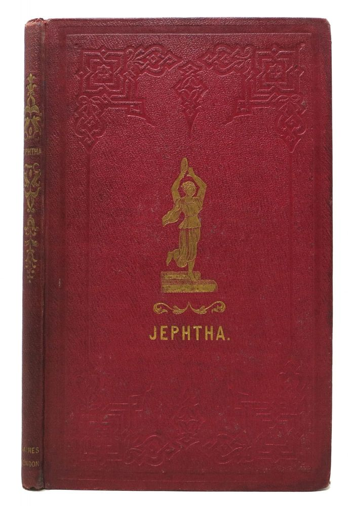 JEPHTHA. A Drama in Five Acts. By A Lady. Mrs. - Attributed to Salmon.