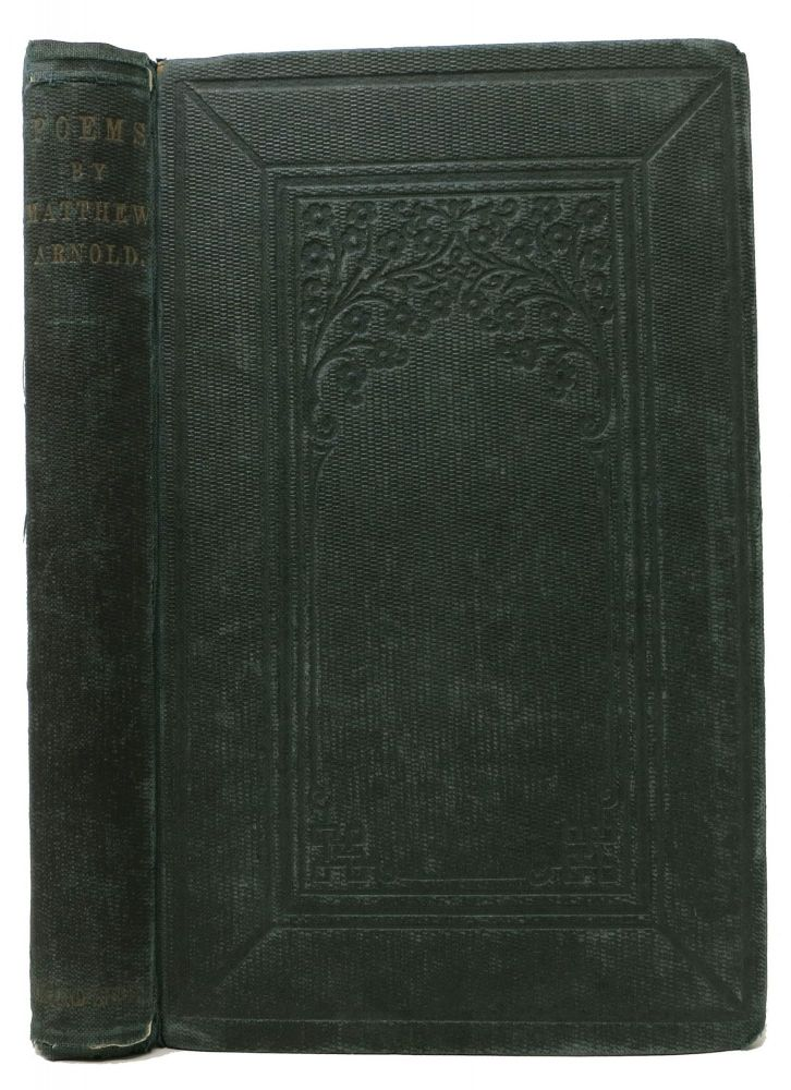 POEMS. Second Series. Matthew Arnold, 1822 - 1888.