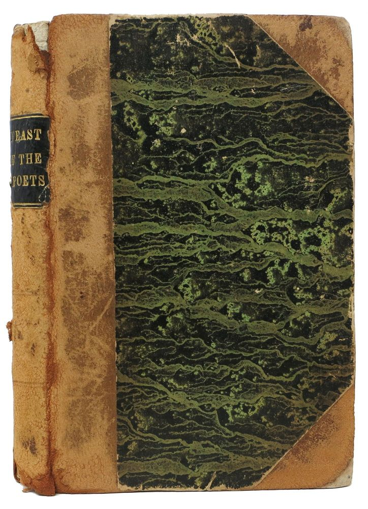 The FEAST Of The POETS, with Notes, and Other Pieces in Verse, By the Editor of the Examiner. Leigh. 1784 - 1859 Hunt.