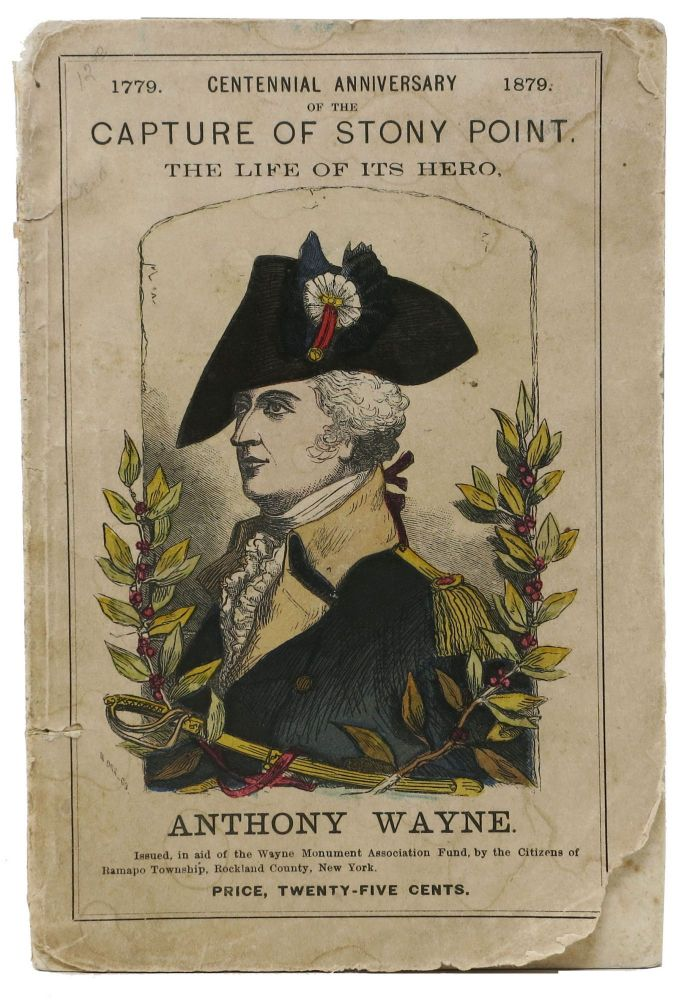 """The LIFE, TIMES And SERVICES OF ANTHONY WAYNE, (""""Mad Anthony,""""); Brigadier-General in the War of the Revolution, and Commander-in-Chief of the Army During the Indian War. Beadle's Dime Biographical Library No. 1. . . Wayne Victor, Anthony - Subject, rville, ames. 1827 - 1910, 1745 - 1796."""