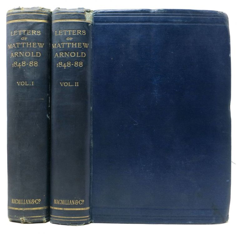 LETTERS Of MATTHEW ARNOLD. 1848 - 1888.; Collected and Arranged by George W. E. Russell. Matthew . Russell Arnold, George W. E. -, 1822 - 1888.
