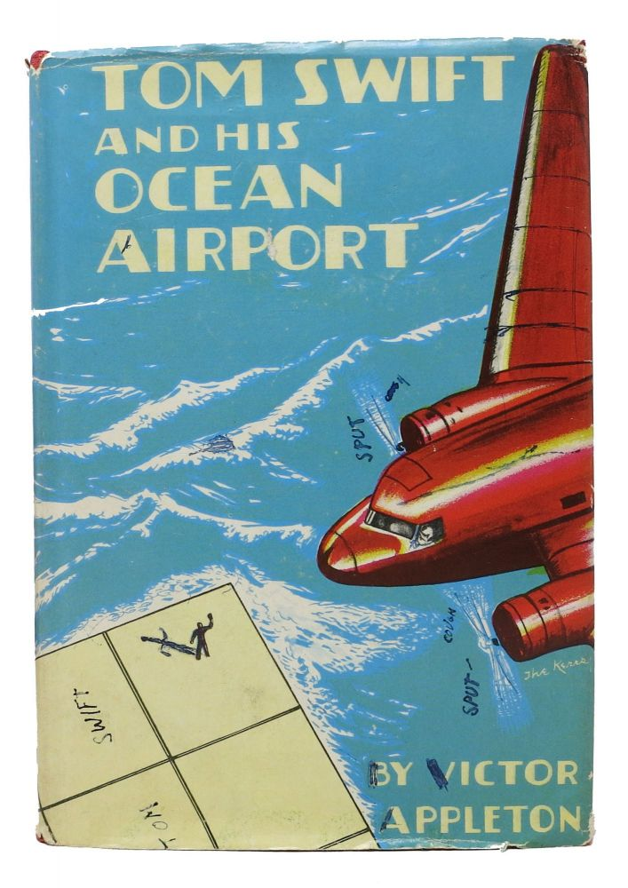 TOM SWIFT And His OCEAN AIRPORT or Foiling the Haargolanders. 2164. Victor Appleton.