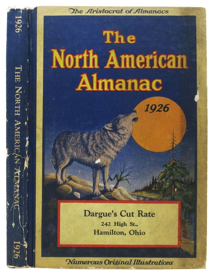 The NORTH AMERICAN ALMANAC. 1926. Anonymous.