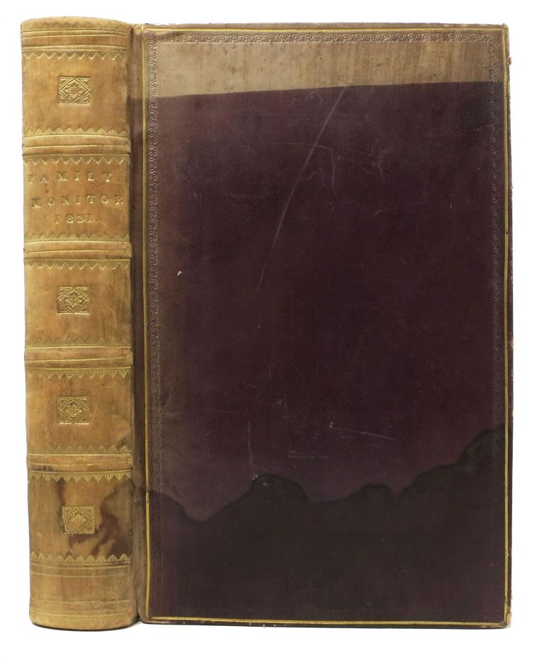 The FAMILY MONITOR For 1831. [Volume t.p.].; Individual issue title: The FAMILY MONITOR And SERVANT'S GUARDIAN. British Class Society.