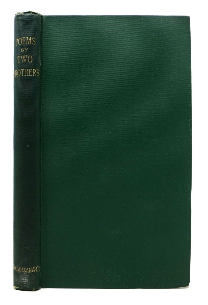 POEMS By Two Brothers. Alfred Tennyson, Charles.