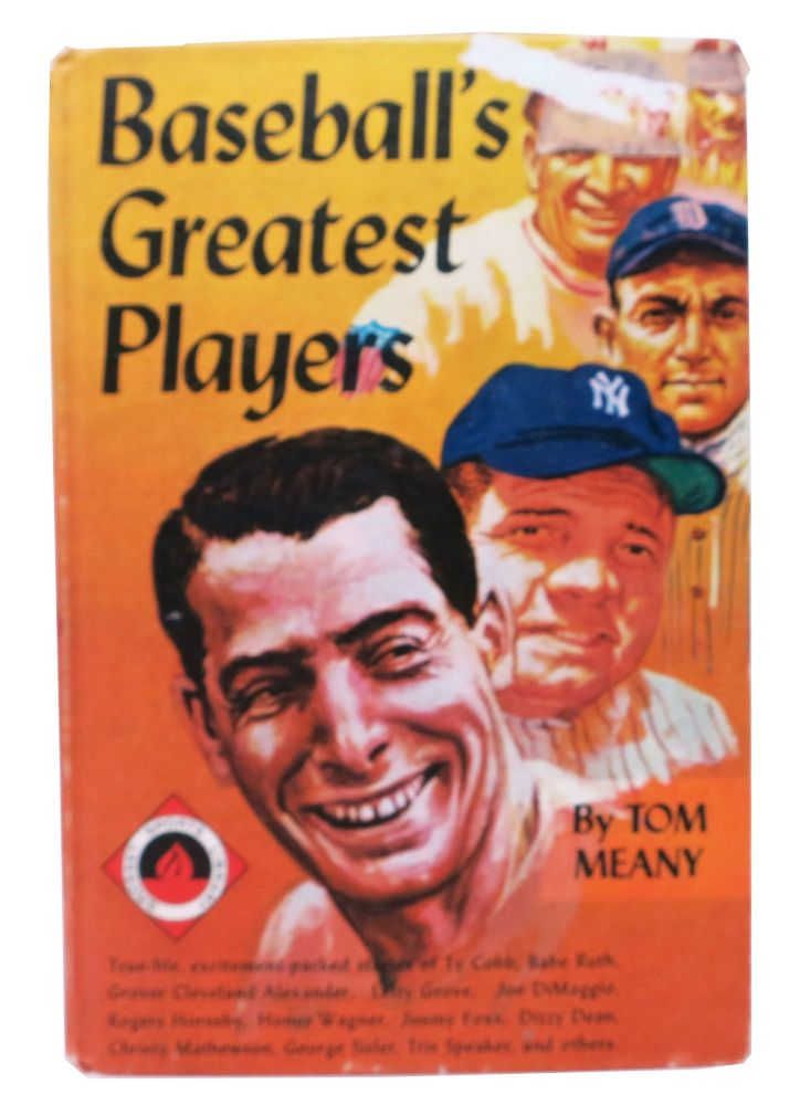 BASEBALL'S GREATEST PLAYERS. The Big League Baseball Library.; With a Foreword by Ford C. Frick. Tom. Frick Meany, Ford C. - Contributor.