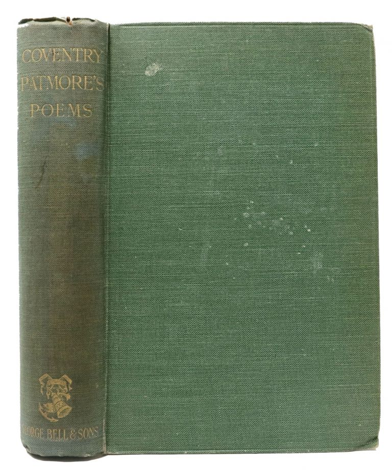POEMS. With an Introduction by Basil Champneys. Coventry . Champneys Patmore, Basil -, 1823 - 1896.
