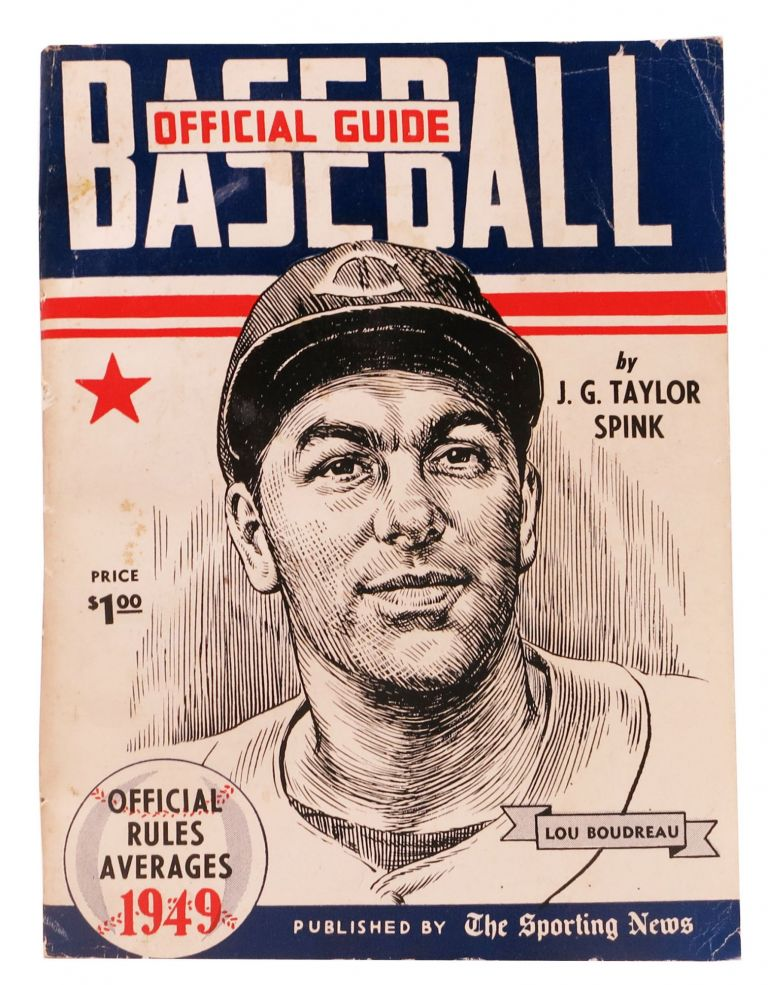 BASEBALL GUIDE And RECORD BOOK 1949. J. G. Taylor - Spink.