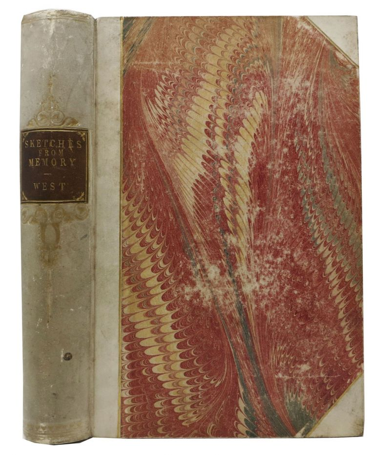 FRESCOES And SKETCHES From MEMORY. Theresa . I. . West, ornwallis, Mrs. Frederic 1805? - 1886.