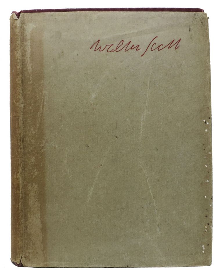 The POETICAL WORKS Of SIR WALTER SCOTT.; Including Introduction and Notes. Sir Walte Scott, 1771 - 1832.
