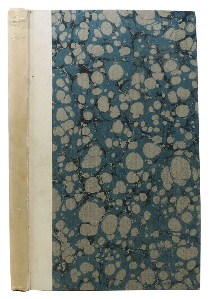 UNPUBLISHED EARLY POEMS.; Edited by Charles Tennyson, His Grandson. Alfred. Tennyson Tennyson, Charles -.