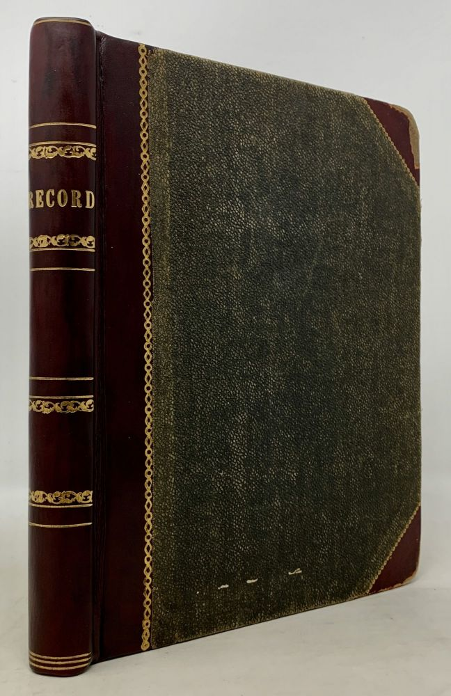 JOURNAL - Lectures Given to Nurses in the N. H. A. Training School for Nurses. Annie A. Murray, b. 1875.
