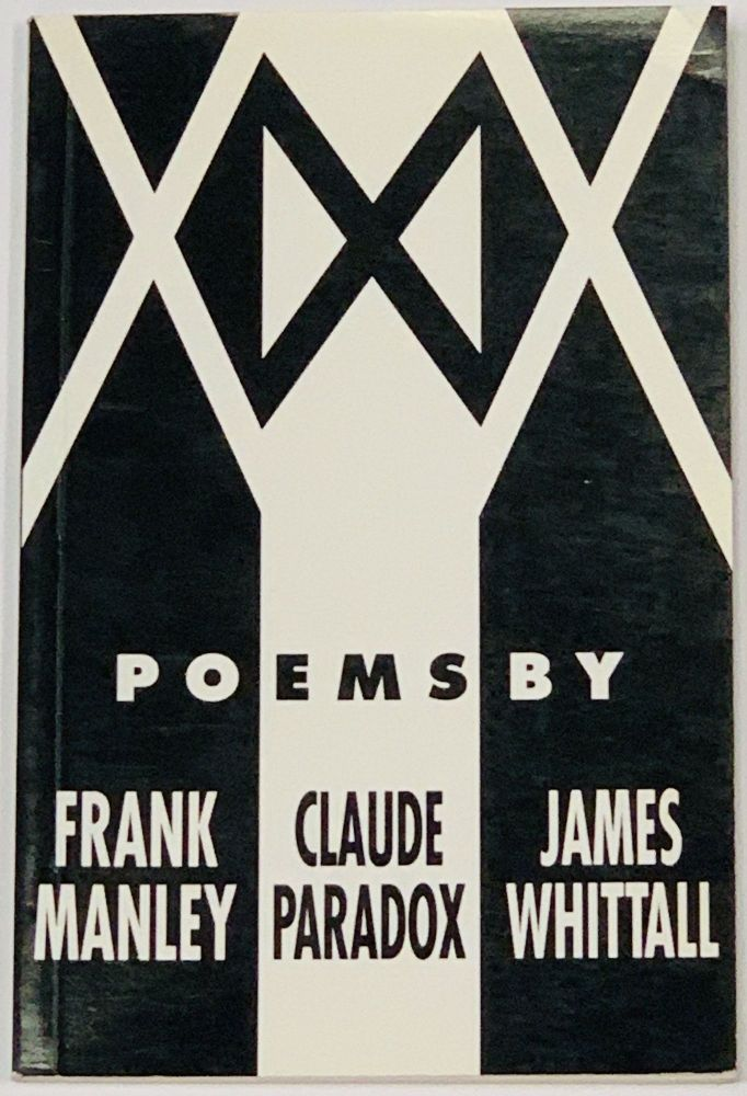 XXX Poems. Frank Manley, Claude Paradox, James Whittall.