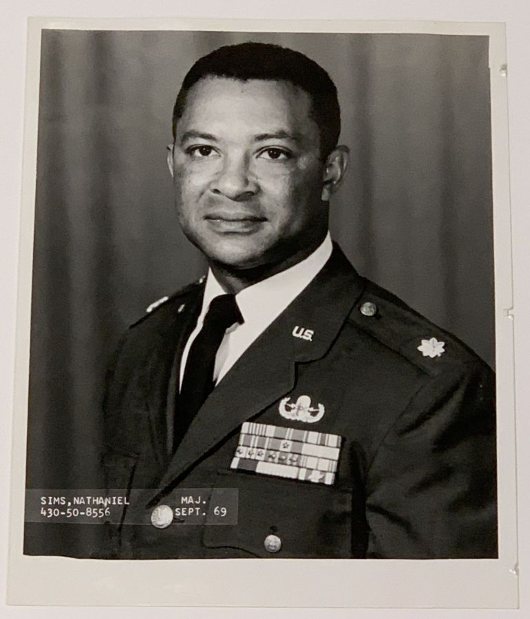 MILITARY SERVICE ARCHIVE, 1951 - 1971, Including Medals Awarded. Nathaniel Sims, LtC, b. 1928.