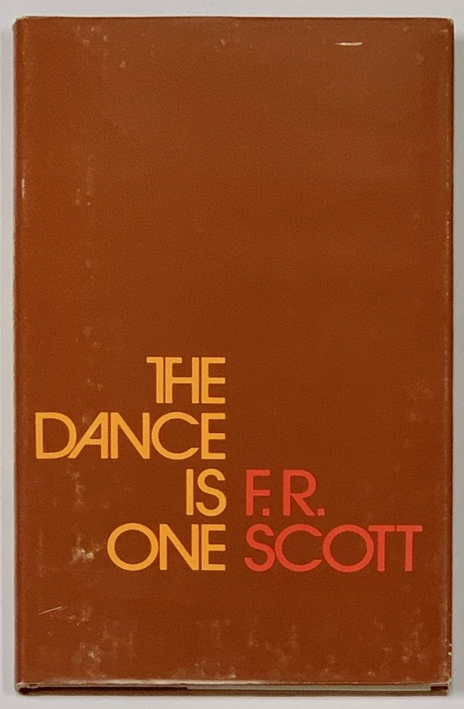 The DANCE Is ONE. F. R. Scott.