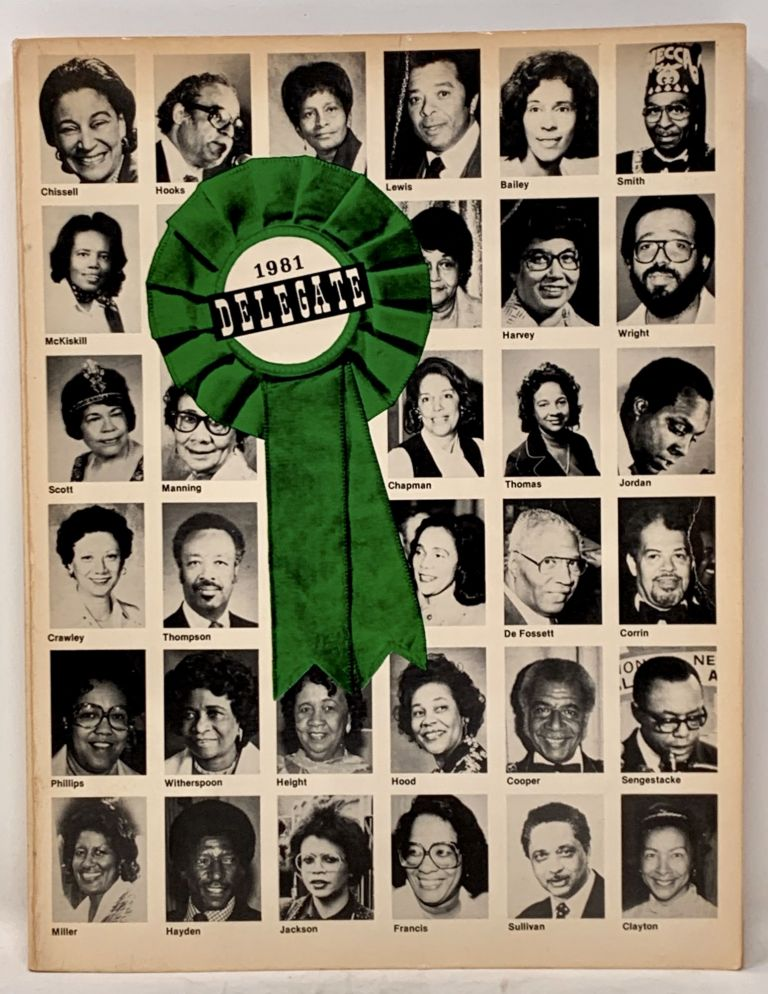 DELEGATE, 1981. 20th C. African - American History, Mel - President and Publisher Patrick.