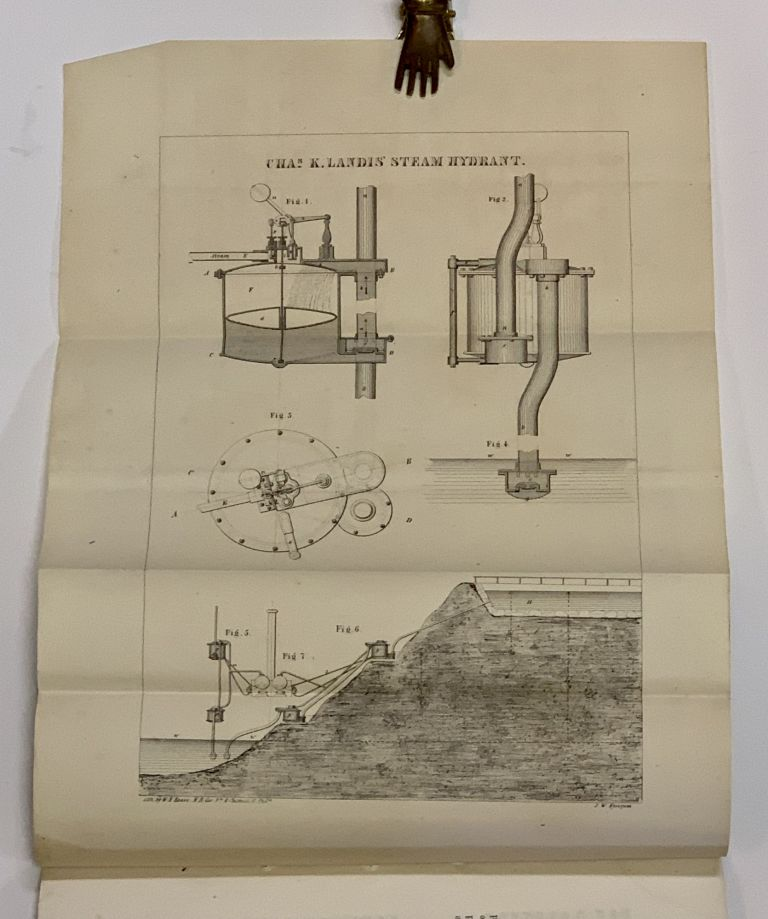 DESCRIPTION Of A STEAM HYDRANT. Invented by Charles K. Landis.; With Formulas and Examples How to Construct the Same by John W. Nystrom, Civil Engineer. Charles K. Nystrom Landis, John W. - Contributor.