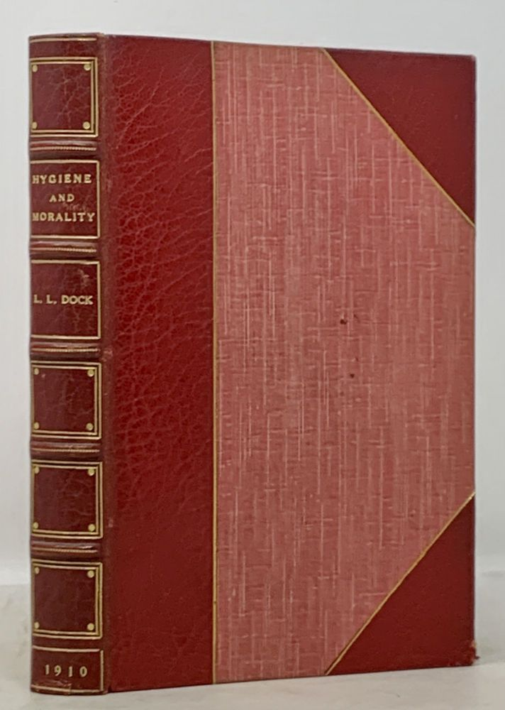 HYGIENE And MORALITY. A Manual for Nurses and Others, Giving an Outline of the Medical, Social, and Legal Aspects of Venereal Diseases. Lavinia . Mackay Dock, Frances W. - Bookplate Designer, Katherine - Former Owner. Delehanty, loyd. 1858 - 1956, 1878 - 1930.