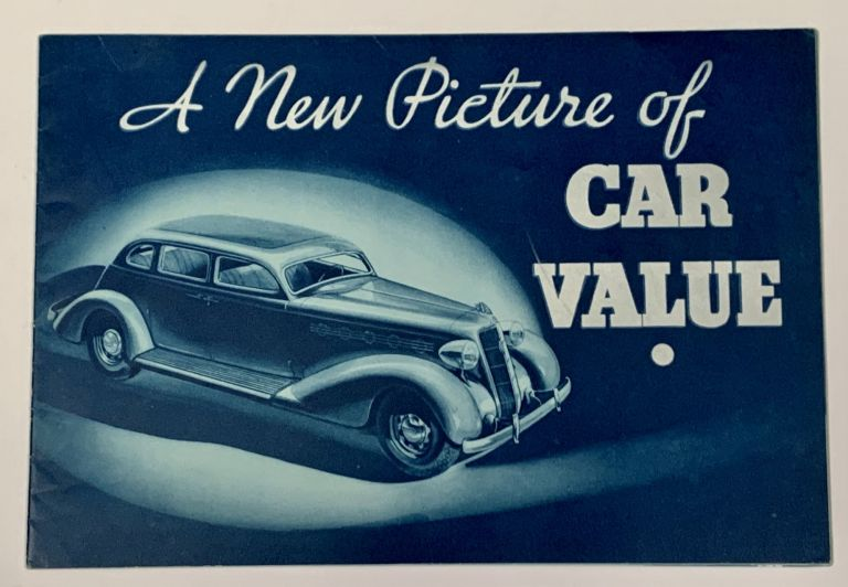 A NEW PICTURE Of CAR VALUE. 1935 Plymouth. Automotive Promotional Booklet.