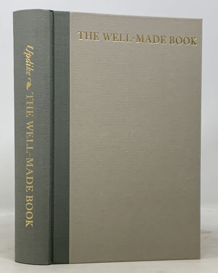 The WELL - MADE BOOK. Essays & Lectures. Daniel Berkeley . Peterson Updike, William S. -, 1860 - 1941.