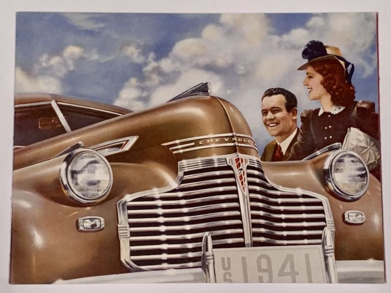 CHEVROLET 1941. Special Deluxe. Master Deluxe. Automobile Promotional Booklet.
