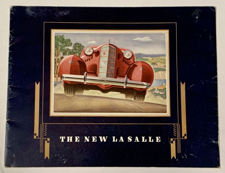 The NEW LASALLE. Automobile Promotional Brochure.