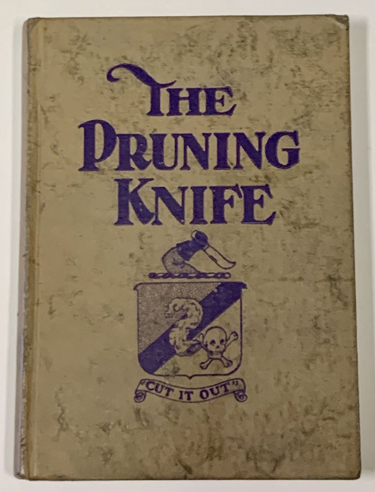 The PRUNING KNIFE. Being a Prospectus of the American Appendicitis Corporation (Unlimited). Thomas J. Barrett.