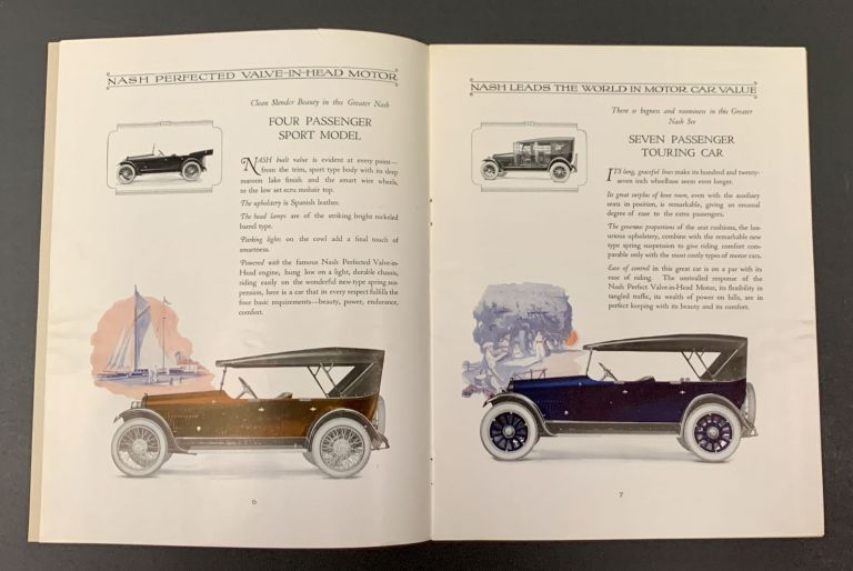 The GREATER NASH SIX. Model 691 Series. Automotive Trade Catalogue.
