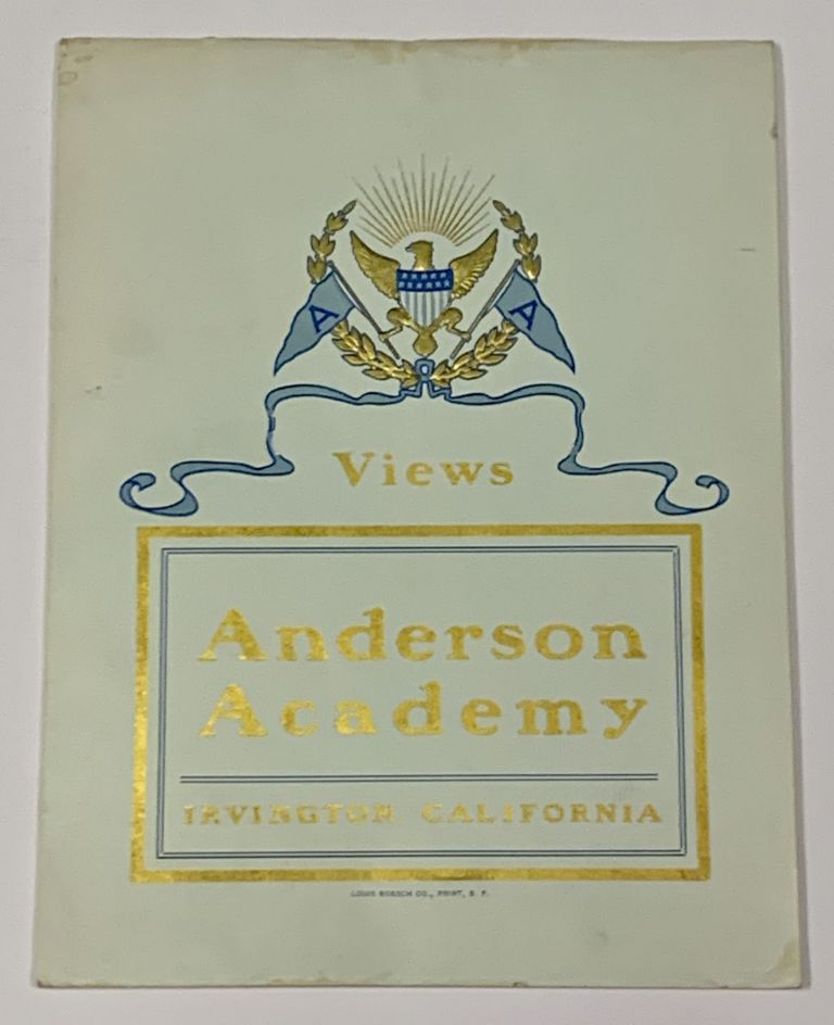 VIEWS. Anderson Academy. Irvington, California. [cover title]. Promotional Brochure / Booklet.