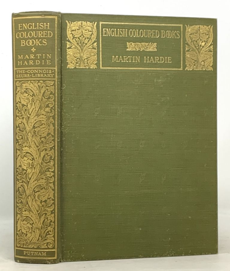 ENGLISH COLOURED BOOKS. The Connoisseur's Library. Martin Hardie.